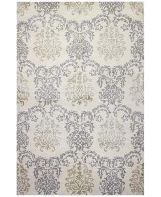 Beautiful Macyu0027s Fine Rug Gallery Bordeaux Damask Ivory Area Rugs   Rugs   Macyu0027s