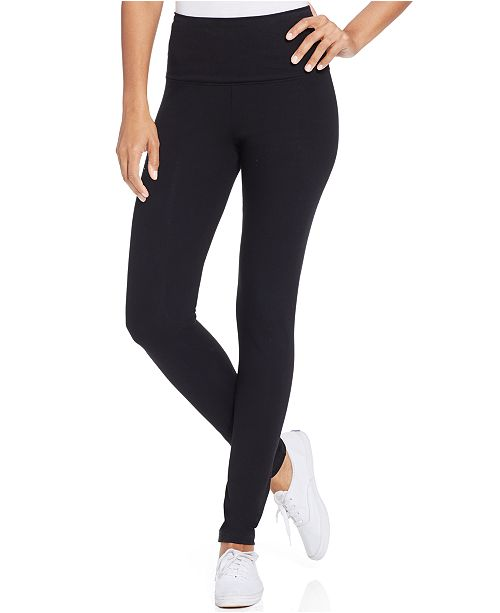 Style & Co Tummy-Control Leggings, In Regular and Petite, Created for Macy's