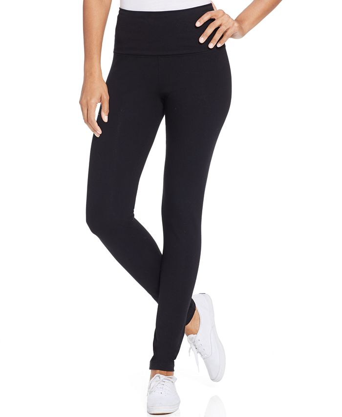 Style & Co - Tummy-Control Active Leggings, Only at Macy's