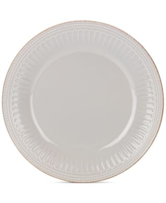 Product Picture  sc 1 st  Macy\u0027s & Lenox Dinnerware French Perle Groove Dinner Plates - Dinnerware ...