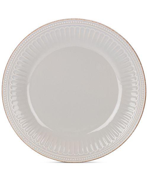 Lenox Dinnerware Stoneware French Perle Groove Dove Grey Dinner ...