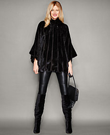 The Fur Vault Mink Fur Cape
