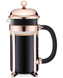 Classic Chambord Copper 8 Cup French Press Coffee Maker
