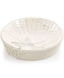 Avanti Bath, Sequin Shells Soap Dish
