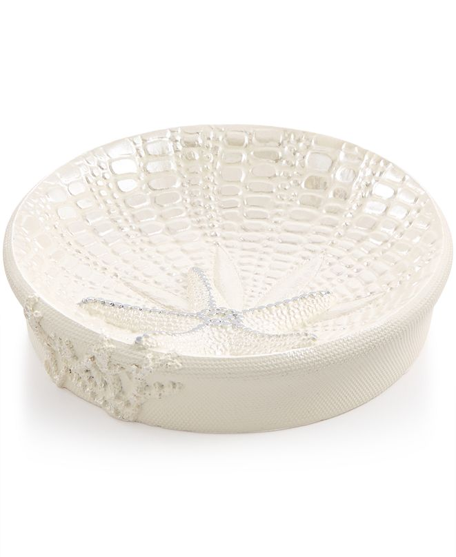 Avanti Bath, Sequin Shells Soap Dish