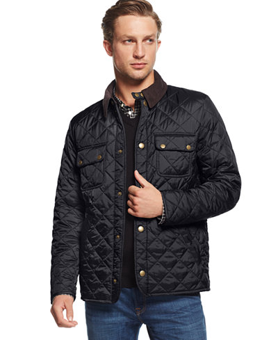 Barbour Tinford Quilted Jacket - Coats & Jackets - Men - Macy's : barbour quilted vest - Adamdwight.com