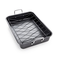 Tools of The Trade Nonstick Roaster & Rack (Black)