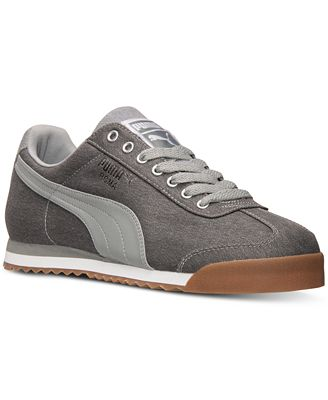 Puma Roma Waxed Denim Citi Mens Shoes Size Top Deals