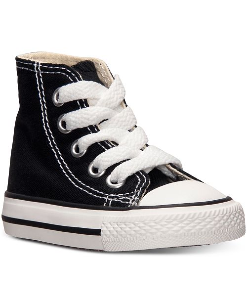 6a5ed0620acb ... Converse Toddler Boys  or Baby Boys  Chuck Taylor Hi Casual Sneakers  from Finish ...