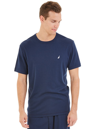 Nautica Knit Sleep Tee Shirt