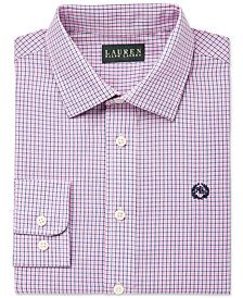 Lauren Ralph Lauren Tattersal Dress Shirt, Big Boys