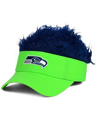 Concept One Seattle Seahawks Flair Hair Visor
