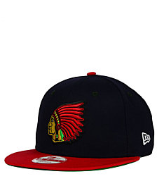 New Era Boston Braves 2-Tone Link Cooperstown 9FIFTY Snapback Cap