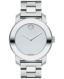 Women's Swiss Bold Stainless Steel Bracelet Watch 36mm 3600334