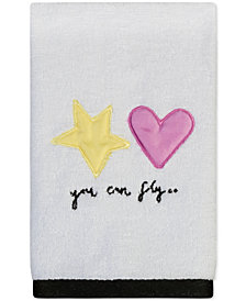 "Creative Bath Faerie Princess 12"" x 18"" Fingertip Towel"