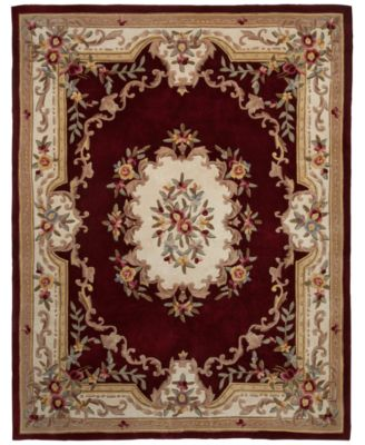 "CLOSEOUT! Majesty Aubusson 7'6"" x 9'6"" Area Rug, Created for Macy's"
