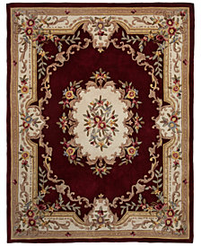 "CLOSEOUT! KM Home Majesty Aubusson 7'6"" x 9'6"" Area Rug, Created for Macy's"