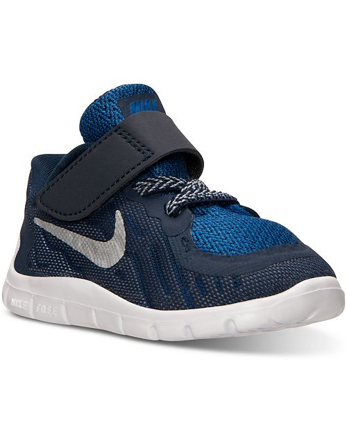 buy popular 2d0a8 0cda4 Nike Toddler Boys' Free 5.0 Running Sneakers from Finish ...