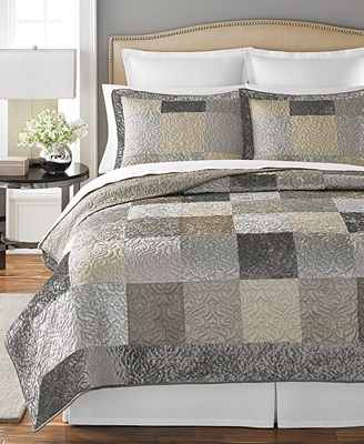 CLOSEOUT! Martha Stewart Collection Wakefield Quilts, Created for ... : macys bedding quilts - Adamdwight.com