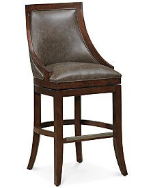 Galileo Bar Height Bar Stool, Quick Ship