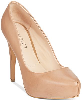 Charles by Charles David Frankie Platform Pumps