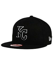 New Era Kansas City Royals Black White 9FIFTY Snapback Cap