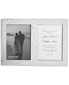 Nambé Dazzle Double Invitation Frame