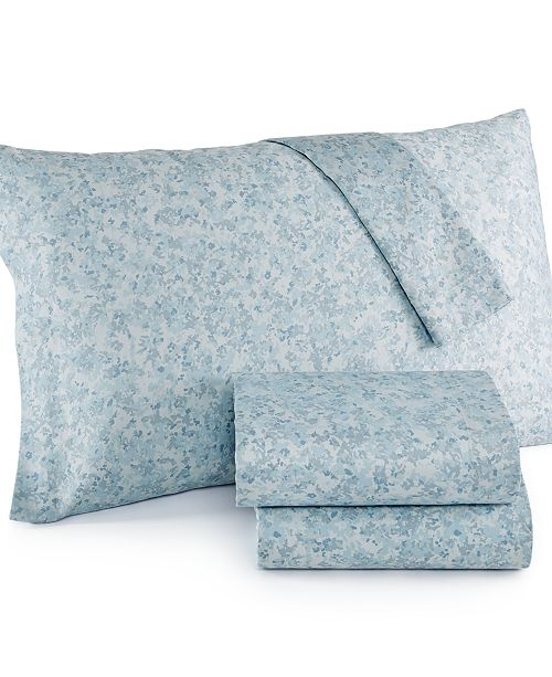 Heather Multiflora King Sheet Set