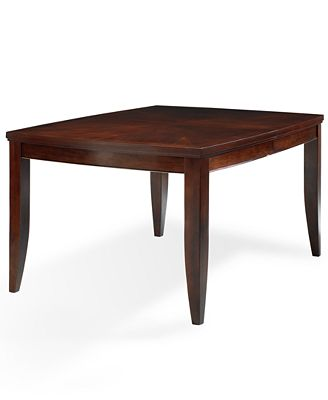 metropolitan rectangular expandable dining table, created for
