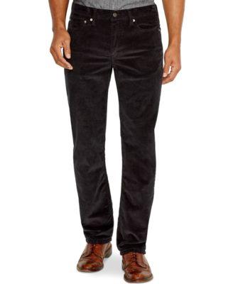 Black Corduroy Pants Mens neUPvggq
