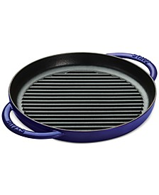 "Enameled Cast Iron 10"" Round SteamGrill"