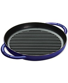"Staub Enameled Cast Iron 10"" Round SteamGrill"