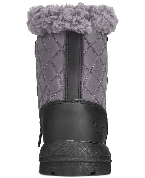 a5b9039f7cc BEARPAW Women's Bethany Lace-Up Waterproof Cold Weather Booties ...