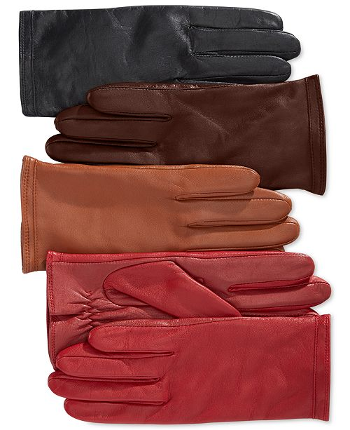 Charter Club Fleece Lined Tech Gloves, Created for Macy's