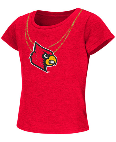 Colosseum Girls' Louisville Cardinals Two Chainz T-Shirt
