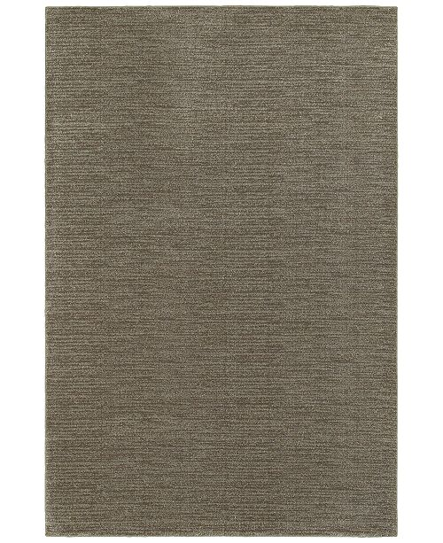 "JHB Design Tidewater Casual Grey/Brown 1'10"" x 3' Area Rug"
