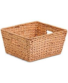 Honey-Can-Do Short Water Hyacinth Basket