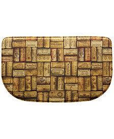 "Bacova Kitchen, Wine Cork Look 18"" x 30"" Memory Foam Rug"