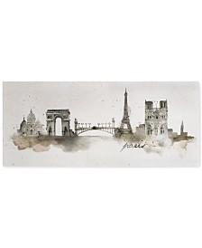 Graham & Brown Paris Watercolor Wall Art