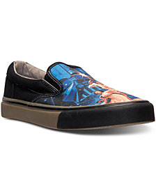 Skechers Men's Star Wars Poster Slip-On Casual Sneakers from Finish Line