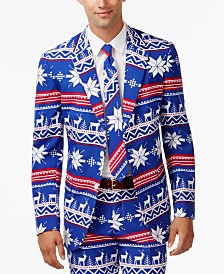 OppoSuits Men's The Rudolph Christmas Suit