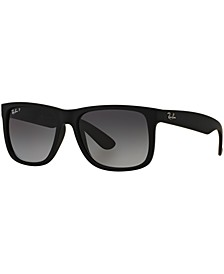 Polarized Sunglasses , RB4165 JUSTIN GRADIENT