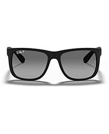 Polarized Sunglasses, RB4165 JUSTIN GRADIENT