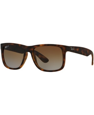 Ray-Ban Polarized Justin Gradient Sunglasses, RB4165 54 -  adult