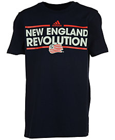 adidas Kids' New England Revolution Dassler T-Shirt, Big Boys (8-20)