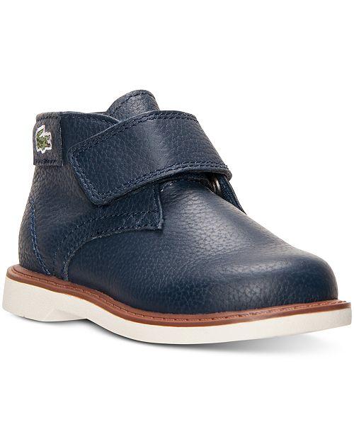 c0e5e58469c5 Lacoste Toddler Boys  Sherbrooke Hi Chukka Boots from Finish Line ...