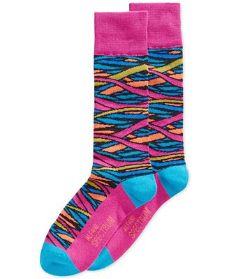 Alfani Spectrum Stained Glass Crew Socks, Only at Macy's