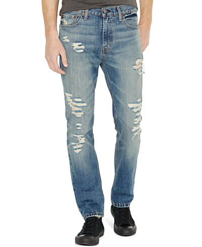 Levi's® 511™ Slim Fit Ripped Jeans