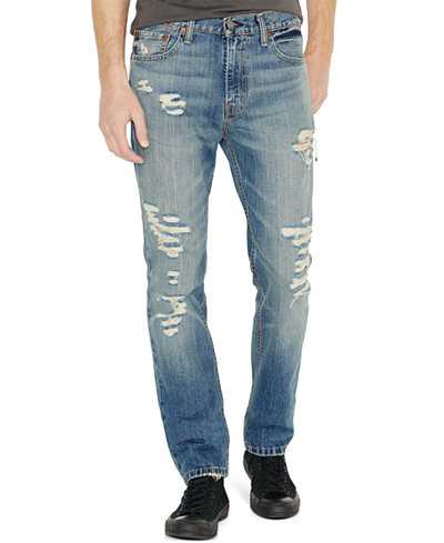 Levi's® 511™ Slim Fit Ripped Jeans - Levi's® 511™ Slim Fit Ripped Jeans - Jeans - Men - Macy's
