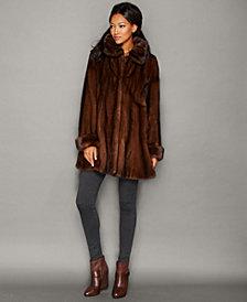 The Fur Vault Flared Mink Fur Coat
